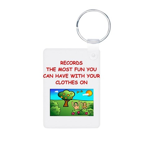 scrapbooking Aluminum Photo Keychain