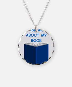 author gifts t-shirts Necklace
