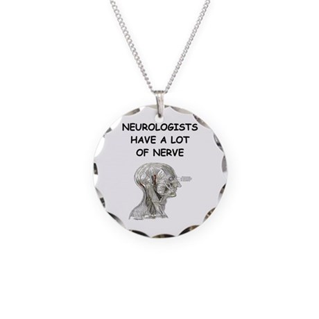 Funny Doctor Joke Necklace Circle Charm