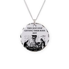 old welders never die Necklace