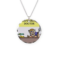 doctor gifts t-shirts Necklace