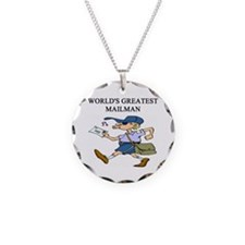 mailman gifts t-shirts Necklace