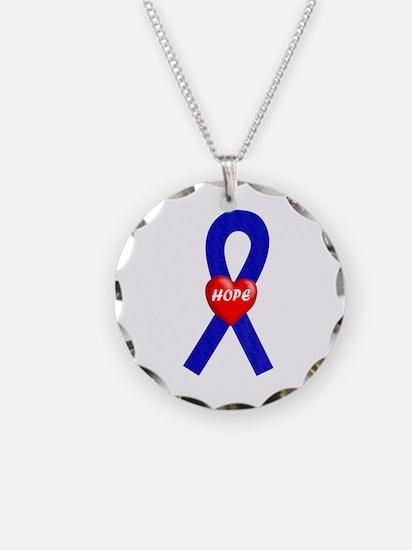 Blue Hope Necklace