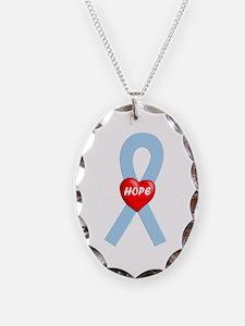 Lt. Blue Hope Necklace