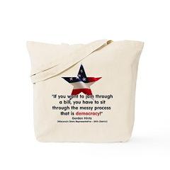Hintz Quote Tote Bag