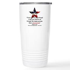 Hintz Quote Stainless Steel Travel Mug