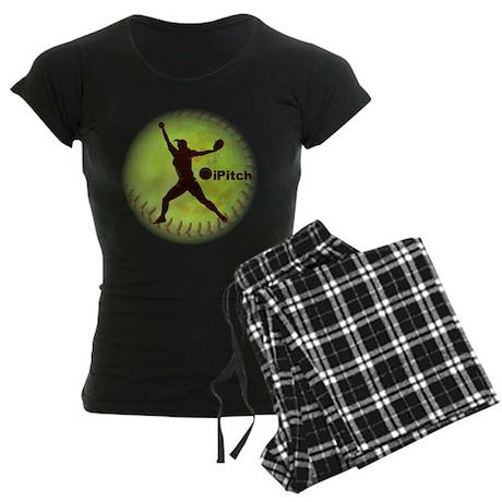 iPitch Fastpitch Softball Women's Dark Pajamas