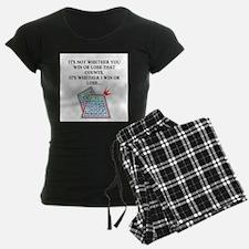 funny bingo joke Pajamas