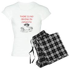 i love canasta Pajamas