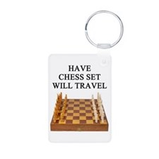 chess game player Keychains