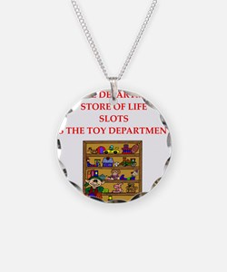 funny slots player Necklace