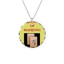 mahjong players Necklace