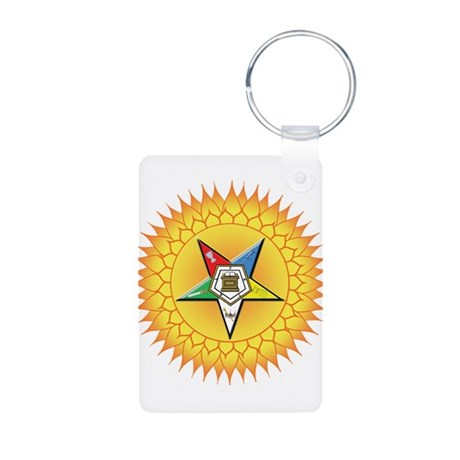 OES In the Sun Aluminum Photo Keychain