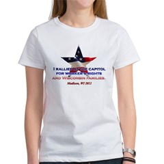 I Rallied - Flag Star Tee