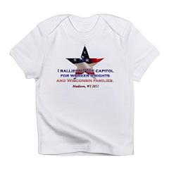 I Rallied - Flag Star Infant T-Shirt