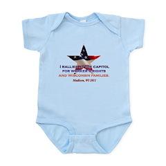 I Rallied - Flag Star Infant Bodysuit