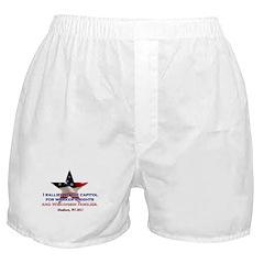 I Rallied - Flag Star Boxer Shorts
