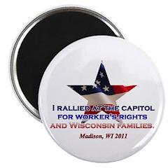 "I Rallied - Flag Star 2.25"" Magnet (10 pack)"