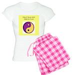 zen buddhist gifts and t0shir Women's Light Pajama