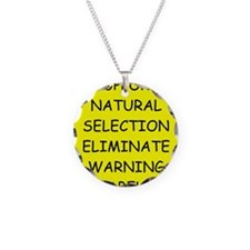 funny proverb Necklace