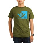 Blue Lodge Organic Men's T-Shirt (dark)