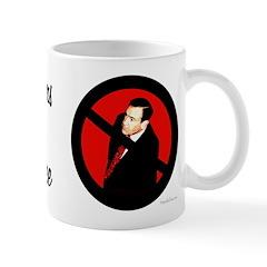 Coffee Drinkers Against Mike Huckabee mug