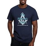 The Masonic Shop Logo Men's Fitted T-Shirt (dark)
