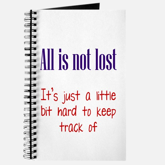 All is not Lost Journal