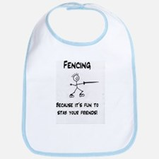 Cute Fencing Bib