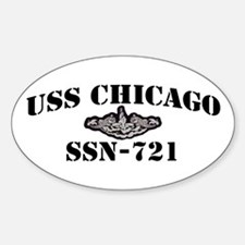 USS CHICAGO Decal