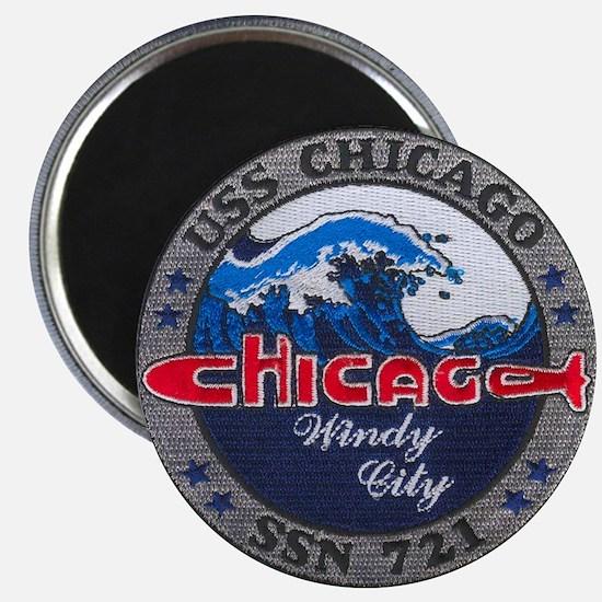USS CHICAGO Magnet