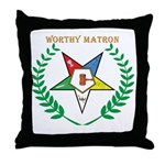 Worthy Matron Throw Pillow
