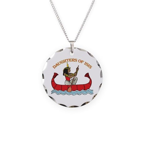 Daughters of Isis Necklace Circle Charm