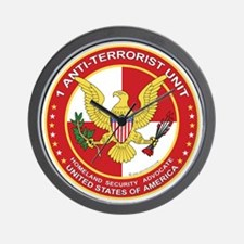 Anti-Terrorist Unit Wall Clock