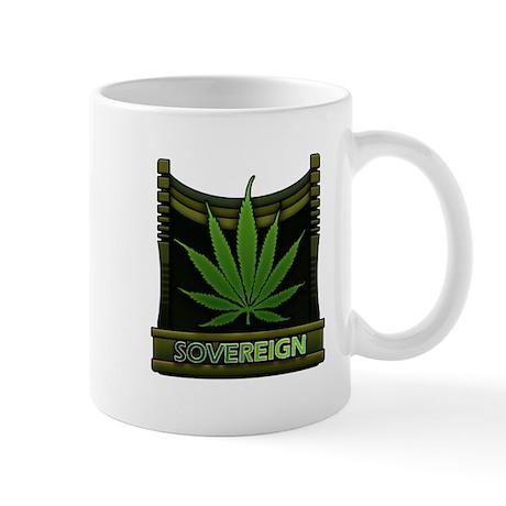 Marijuana Soveriegn Mug
