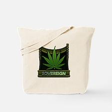 Marijuana Soveriegn Tote Bag