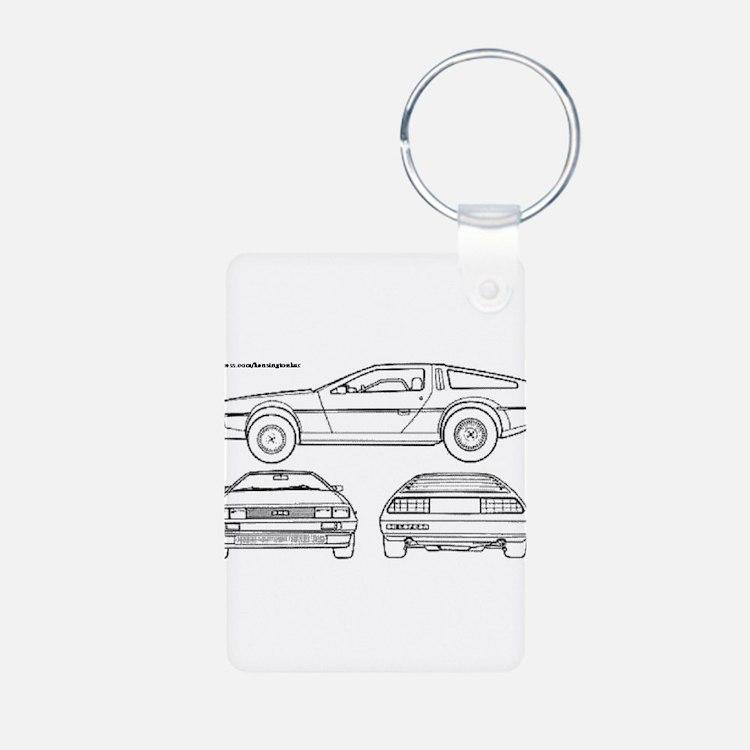 DeLorein Keychains