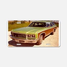 1976 Chevy Caprice Aluminum License Plate