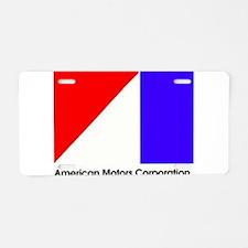 Named AMC Logo Aluminum License Plate