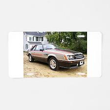 Mustang Pace Car Aluminum License Plate
