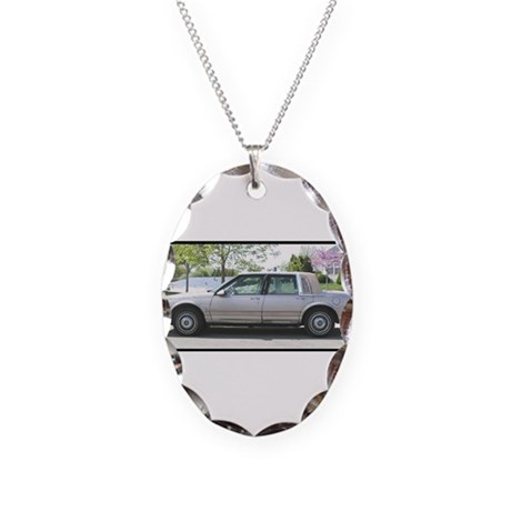 1989 Ninty-Eight Necklace Oval Charm