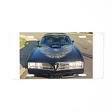 Firebird Trans Am Front Aluminum License Plate