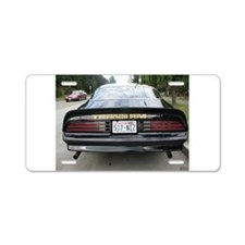 Firebird Trans Am Aluminum License Plate