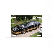 85 Trans Am Aluminum License Plate