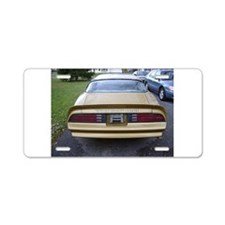 Trans Am Aluminum License Plate