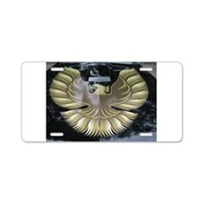 Firebird Aluminum License Plate