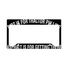 Tractors License Plate Holder
