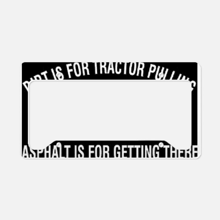 Tractor License Plates : Tractor licence plate frames license