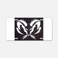 Ram Sign Aluminum License Plate
