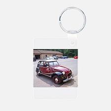 2CV Red Keychains